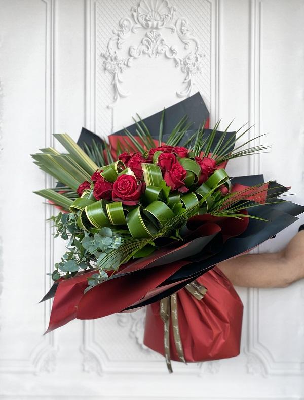 Catharina Kırmızı Gül Buketi